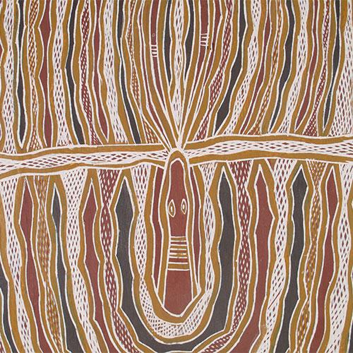 aboriginal bark painting artwork for sale australia yirrkala