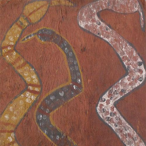 old aboriginal bark painting artwork for sale australia