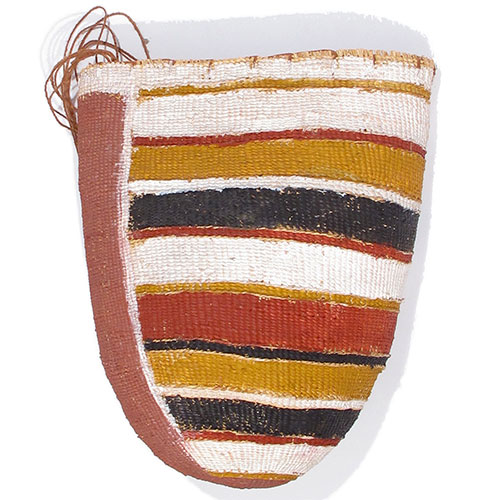 aboriginal woven dilly bag for sale